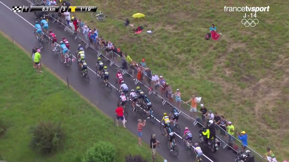 El Mont Blanc le entrega podio a Nairo Quintana, es tercero en el Tour