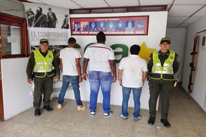 Capturados 3 hombres que secuestraron a mujer en Ciudad 2000