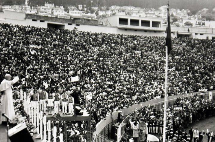 Hace 30 años, el procer de la paz Juan Pablo II visitó la capital del Valle