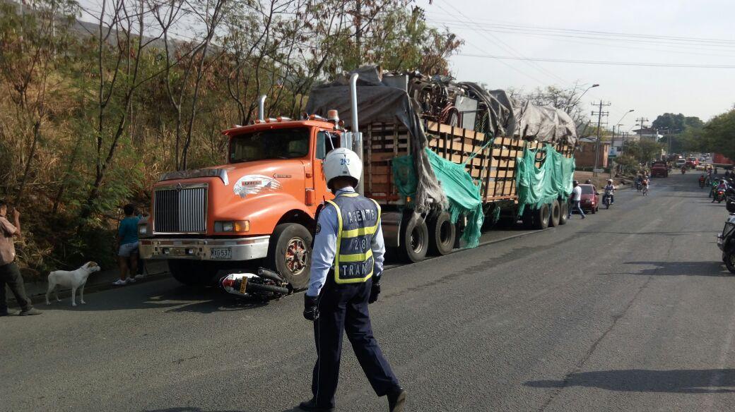 Un motociclista muerto deja accidente en la vía Cali –Yumbo