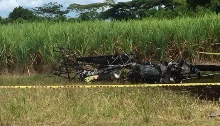 Muere piloto en accidente de avioneta de fumigación en Cartago