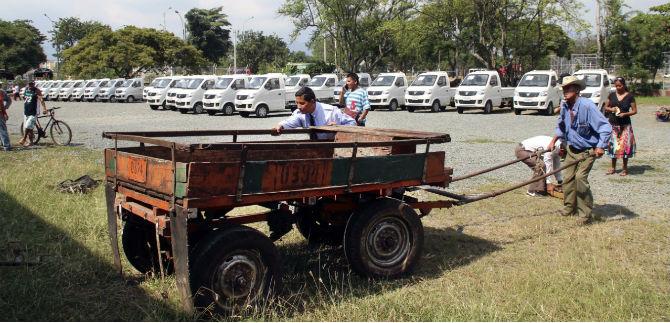 Cali contará con 275 nuevos vehículos de carga para sustituir carretillas