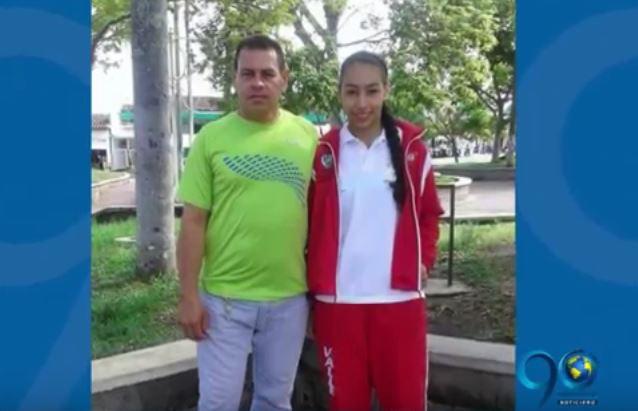 Menor deportista asesinada por su padre en Roldanillo fue enterrada entre dolor