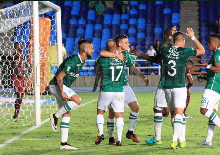 Deportivo Cali venció al Tolima y pegó primero en la Copa Águila
