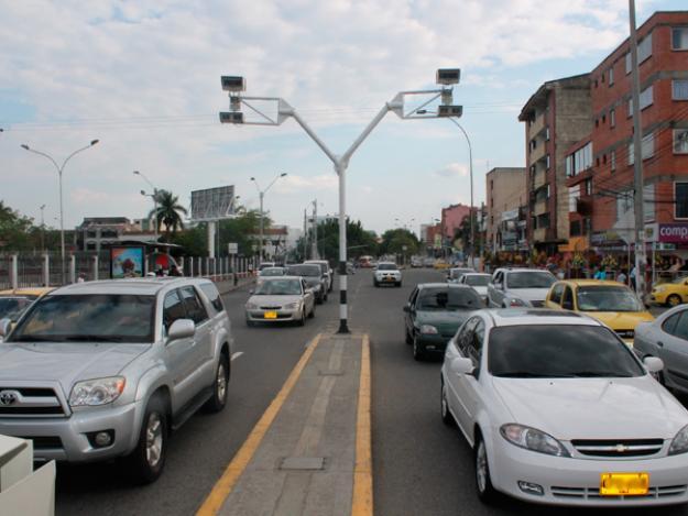 Cámaras de video vigilancia de la ciudad están siendo reparadas