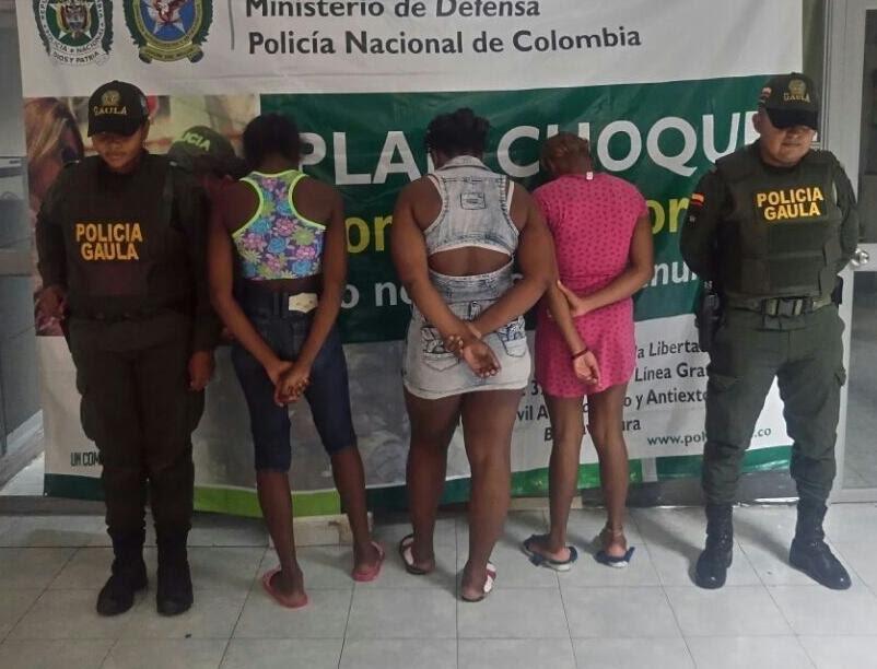 Capturan a Las Nenas, sindicadas de extorsión en Buenaventura