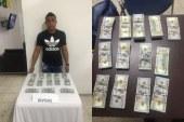 Capturan joven con $US 130.000 en el aeropuerto Alfonso Bonilla Aragón