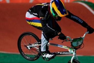 Carlos Ramírez fue bronce en el BMX masculino y consiguió la octava medalla colombiana