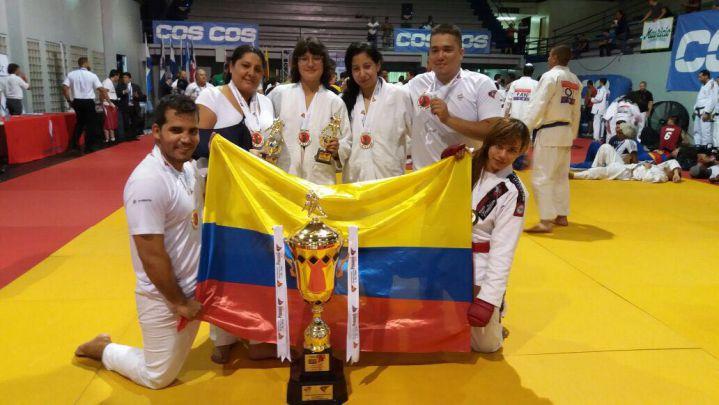 El Valle aportó para el título de Colombia en el Panamericano de jiu jitsu