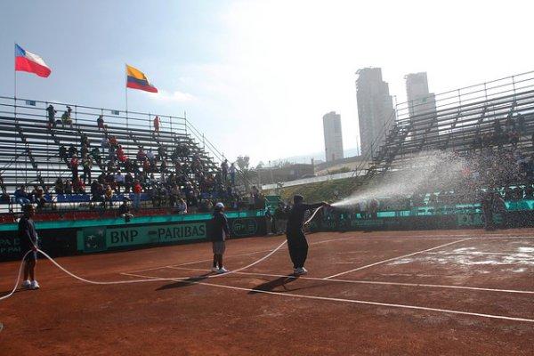 Colombia demanda resultado ante Chile en serie de Copa Davis