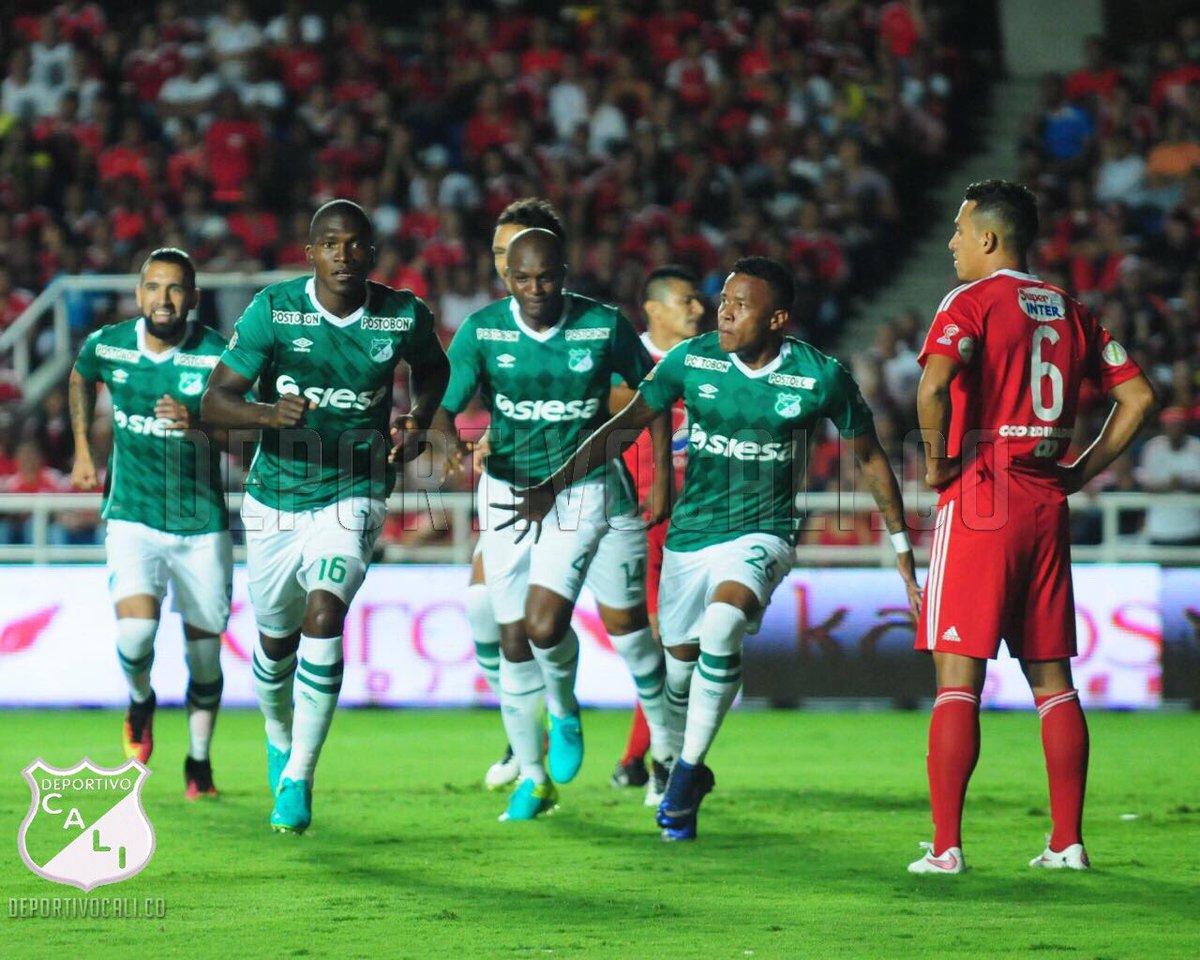 Deportivo Cali empató con América y lo eliminó de Copa Colombia