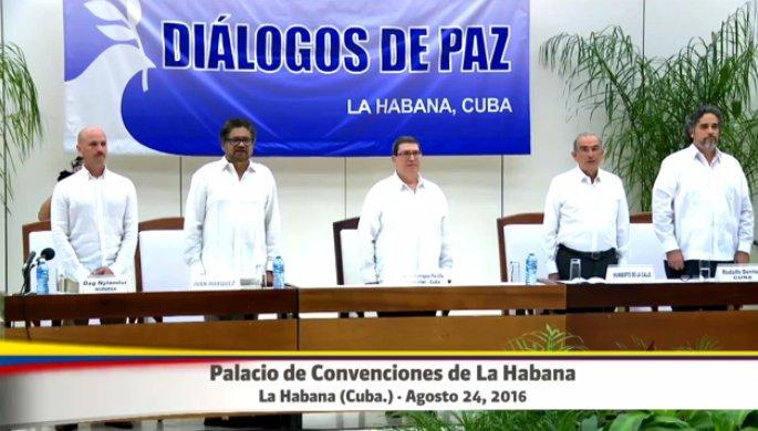 Gobierno y Farc rubrican el acuerdo final para la paz en Colombia