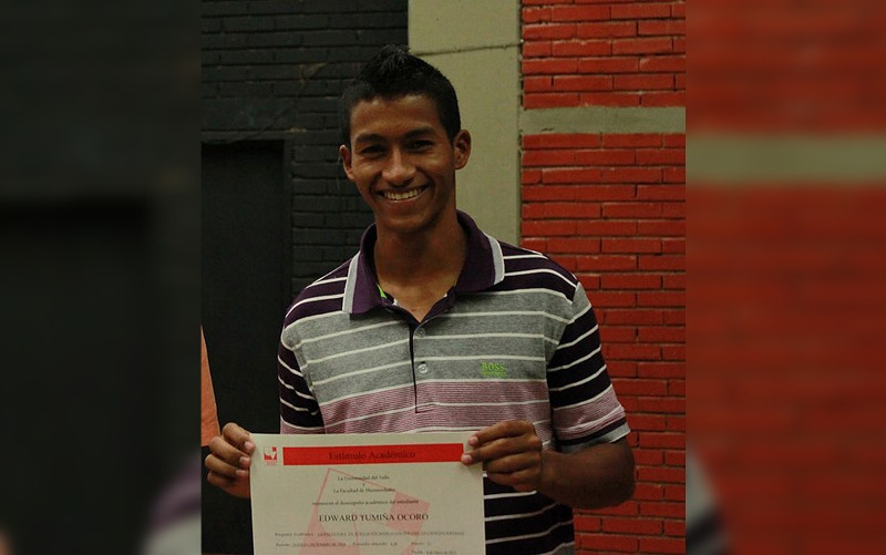 Se entregó presunto homicida de estudiante de Univalle