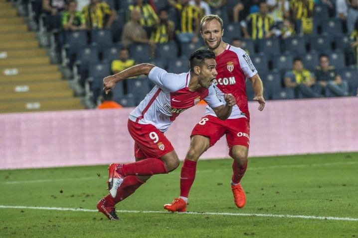 Falcao, clave en Mónaco para remontar el miércoles ante Fenerbahce