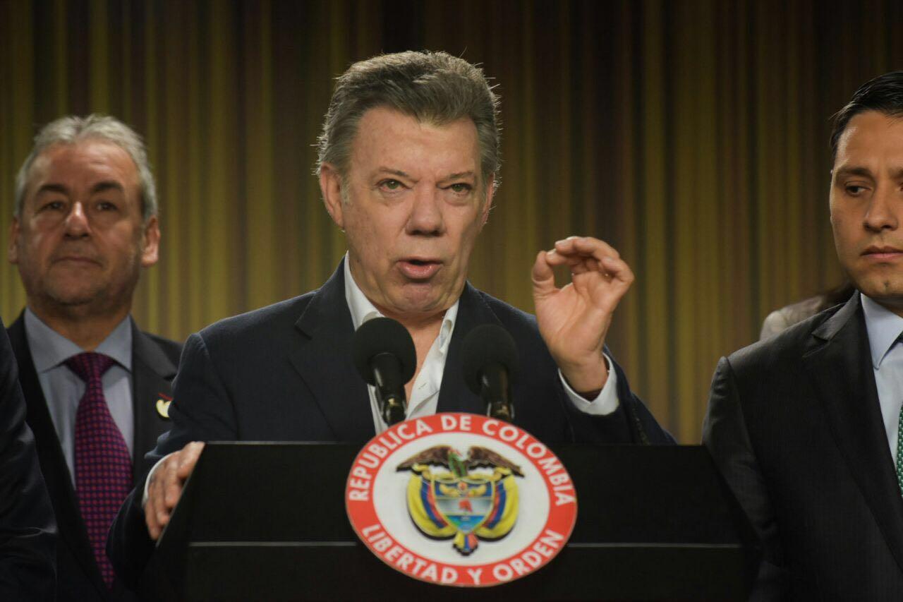 Fecha de firma de paz se decidirá entre hoy y mañana, según presidente Santos
