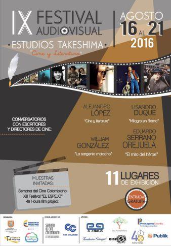 Llega a Cali el Noveno Festival Audiovisual Estudios Takeshima