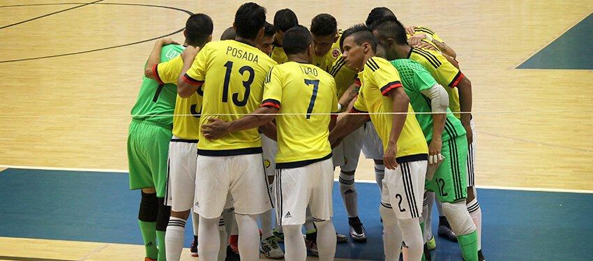 Colombia definió lista de 14 jugadores para Mundial de Futsal de la FIFA