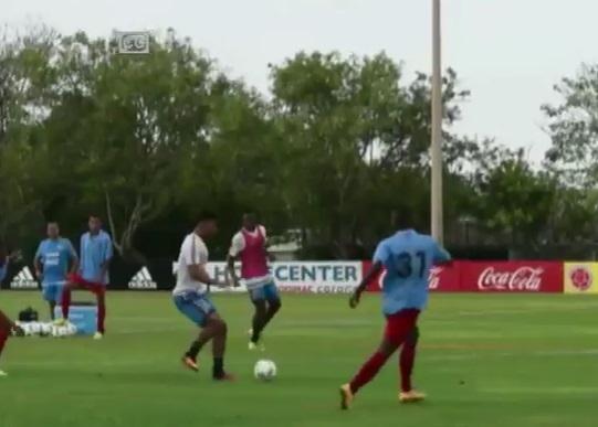 Selección Colombia inició trabajos de cara a doble jornada eliminatoria
