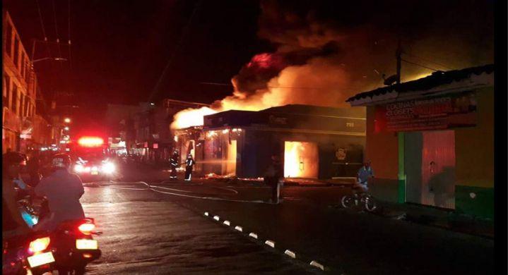 Incendio en Palmira provocó pérdidas por 800 millones de pesos