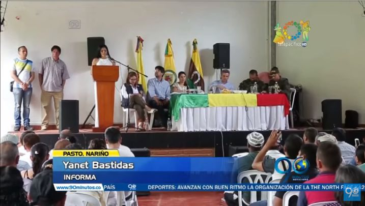 Inspeccionan zonas veredales de concentración de Farc en Policarpa, Nariño