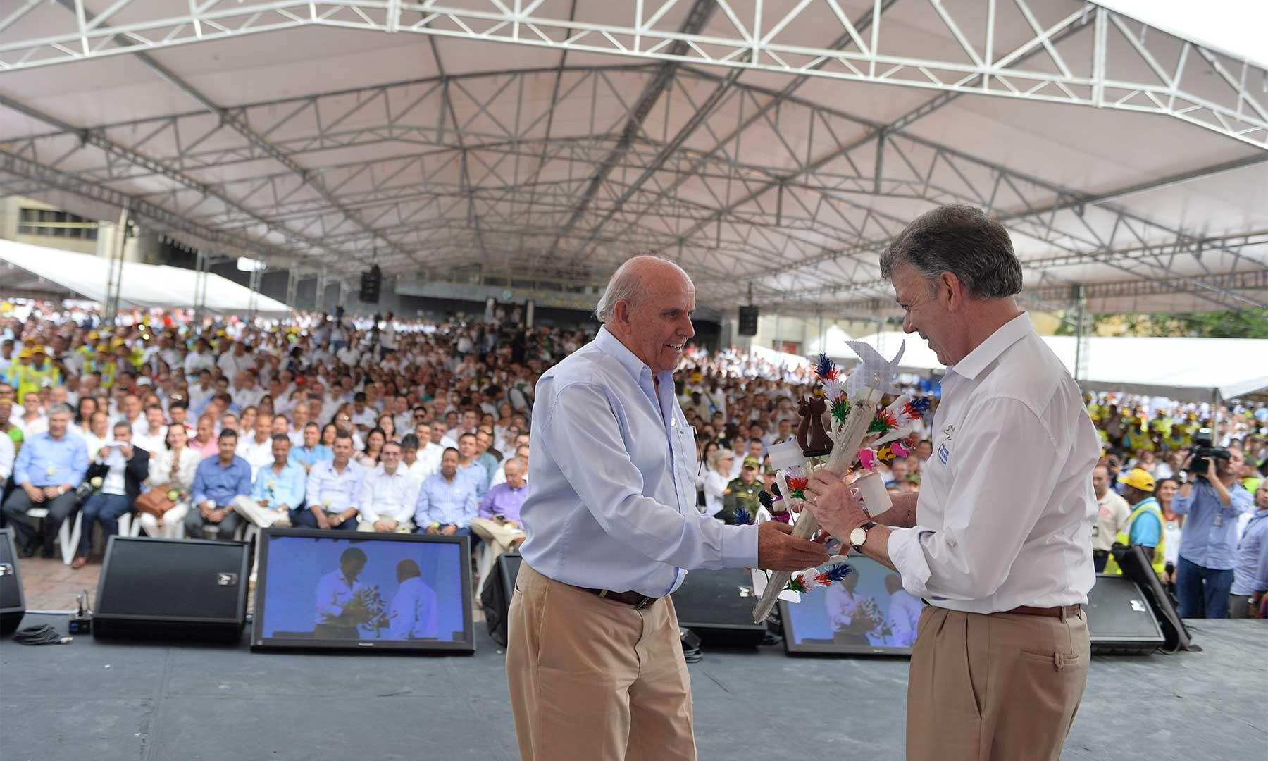Santos anunció medidas para reducir inseguridad en Cali