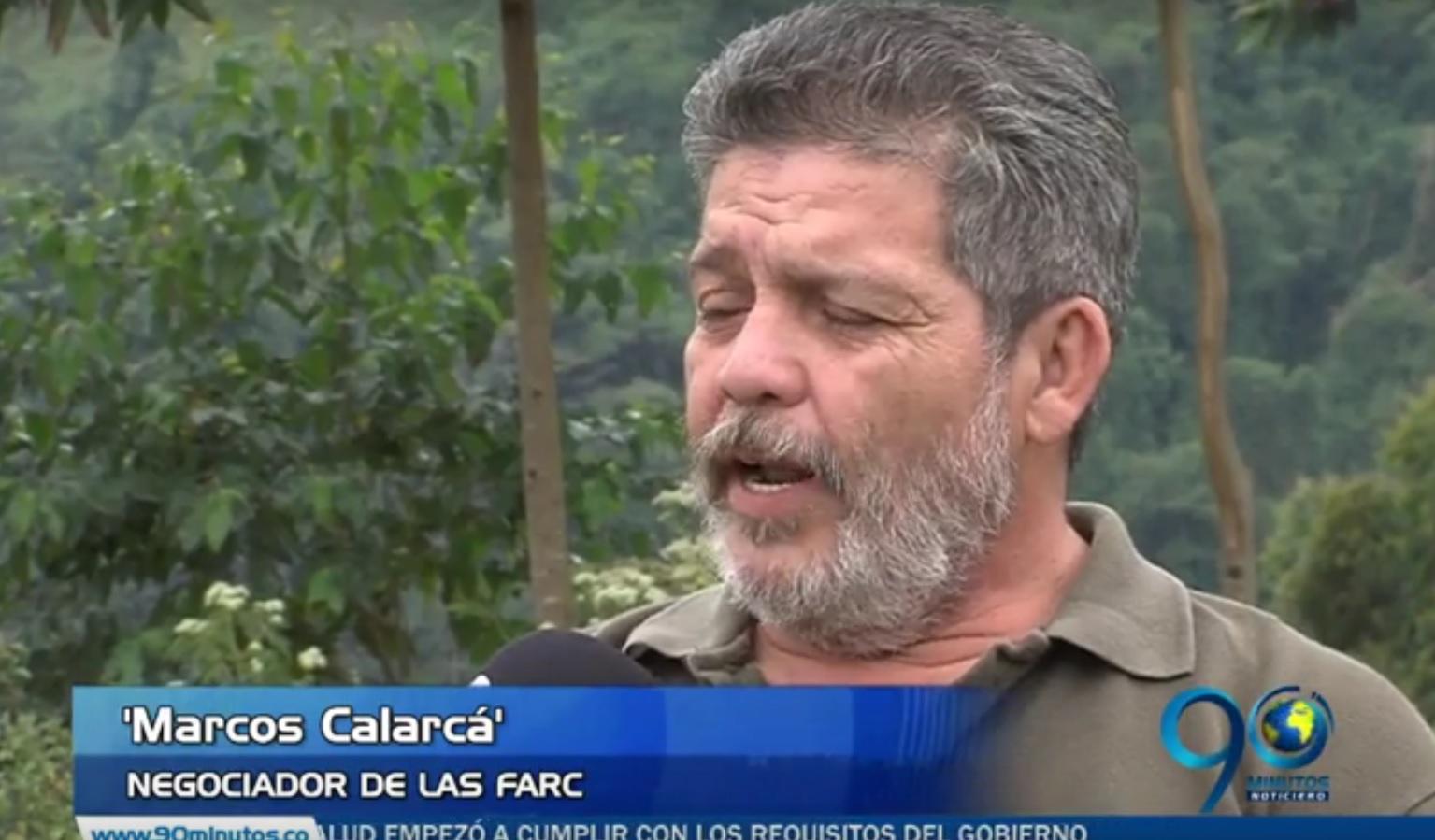 """""""No le tememos al plebiscito"""" Alias 'Marcos Calarcá' vocero de las Farc"""