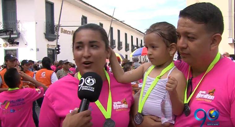 Más de 22 mil personas disfrutaron de la Media Maratón de Palmira