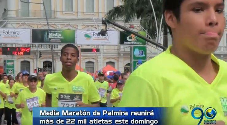 El domingo el Valle vibrará con la Media Maratón de Palmira