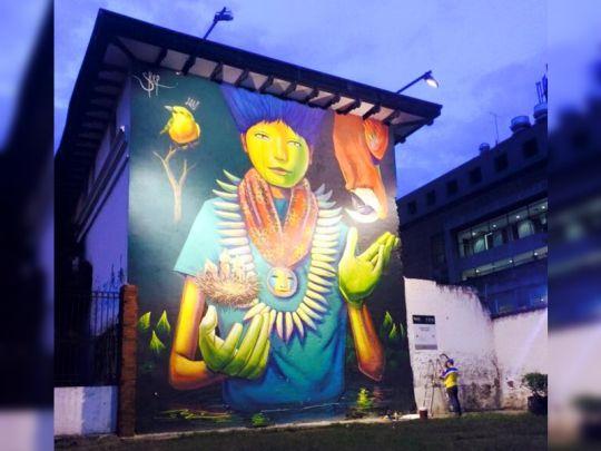 El 7 de septiembre inicia la 3ª Bienal Internacional de Muralismo y Arte Público
