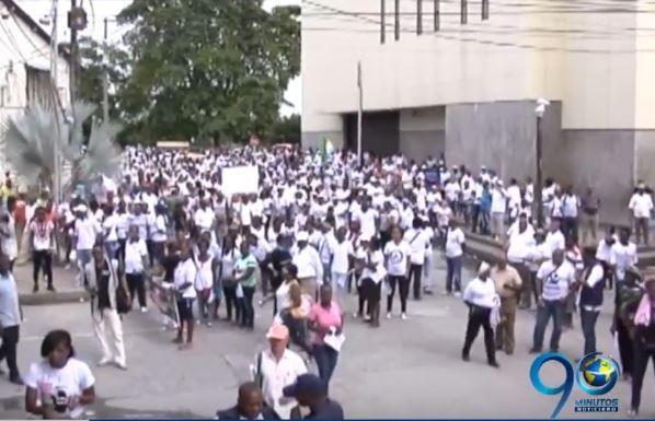 Treinta municipios del Chocó entraron en paro indefinido