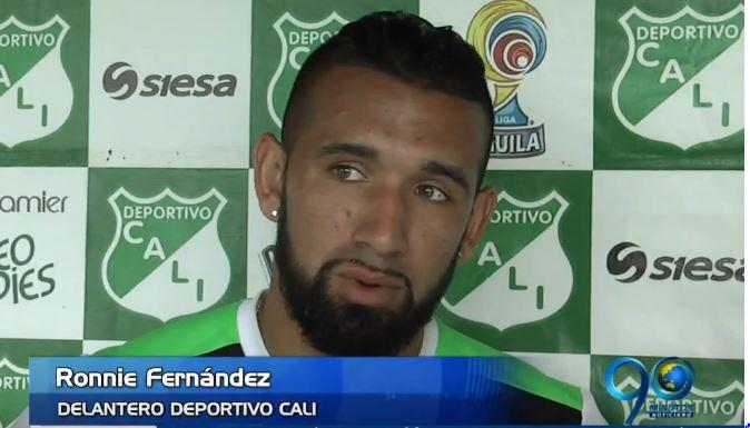 Roonie Fernández espera reconciliarse con el gol frente al Medellín