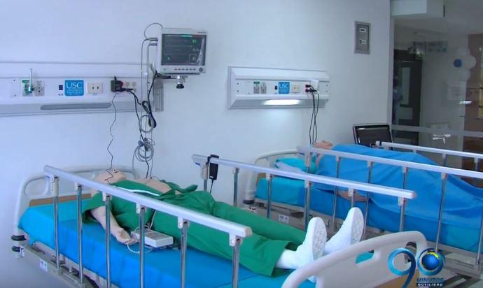La Santiago inauguró hospital simulado más moderno de Latinoamérica