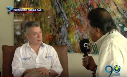 Valle y Cauca, los más beneficiados con el proceso de paz: Santos