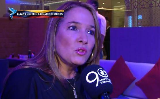 Senadora Susana Correa mostró inconformismo por acuerdos alcanzados en Cuba