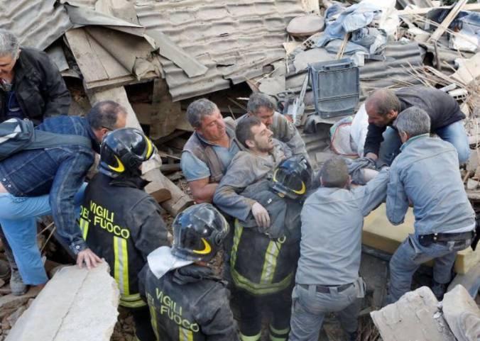 Colombia se solidariza con Italia por terremoto que deja 120 muertos