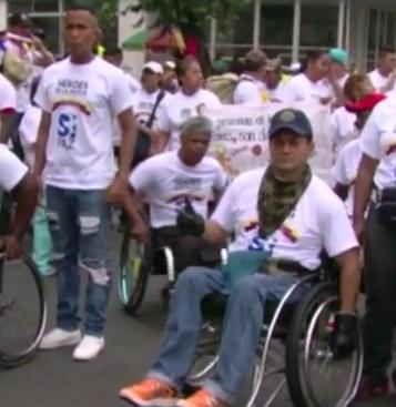 Uniformados afectados por la guerra, expresaron su apoyo al proceso