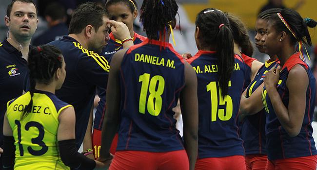 Selección Colombia de Voleibol se prepara en Cali para Suramericano