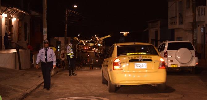 Continúa intervención del tránsito en el barrio San Antonio