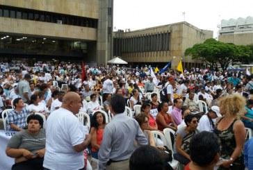 Más de 4000 vallecaucanos celebraron la firma del proceso de paz