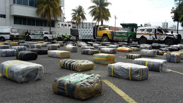 Incautan marihuana avaluada en cinco mil millones de pesos