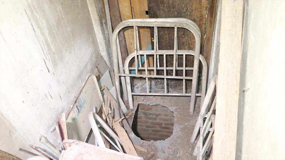 A través de 3 túneles robaban elementos de hospital en Cartago
