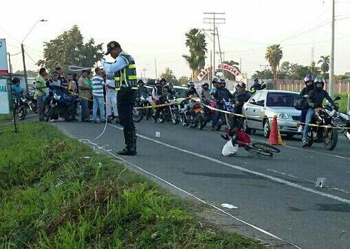 Accidente en la vía Cali – Candelaria deja un ciclista muerto