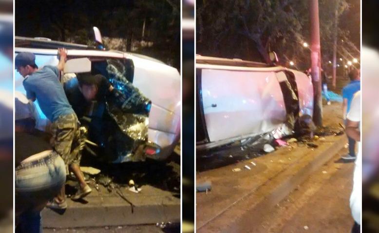 Un muerto y un herido dejó accidente de tránsito esta madrugada en Cali