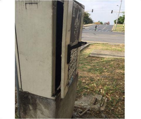 Actos vandálicos tienen en jaque a la red semaforizada de Cali