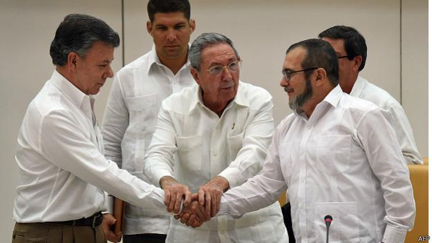Farc reiteran que no hay ninguna posibilidad de renegociar acuerdo de paz