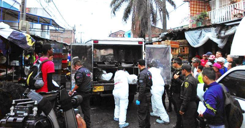 Investigan causas de ataque sicarial en la galería Santa Elena