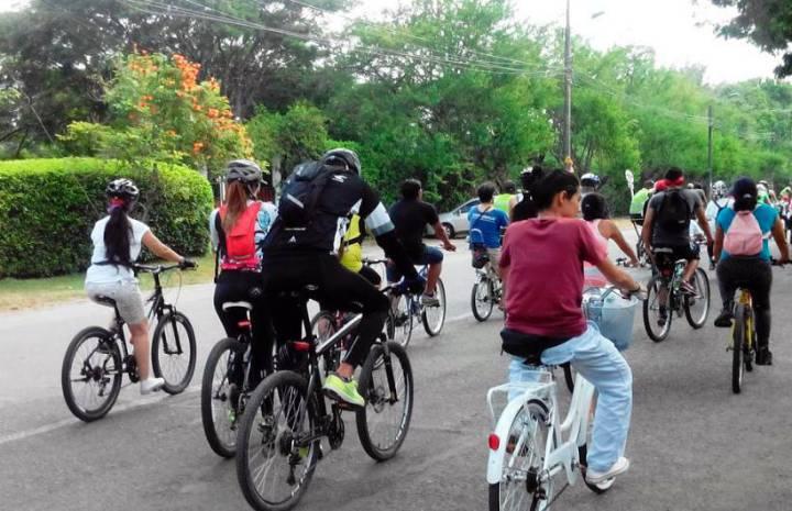 Este jueves universidades harán  bicicletada por la paz sostenible
