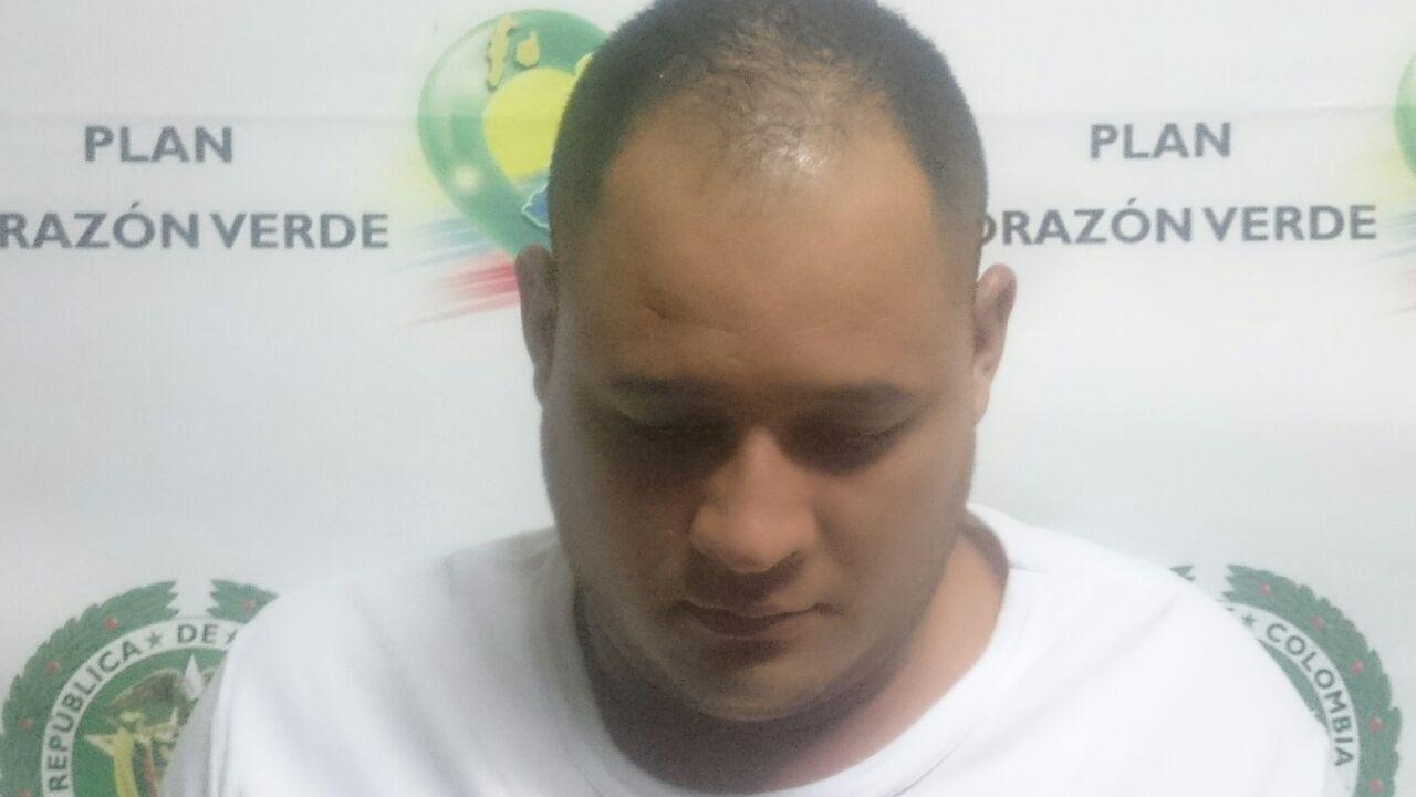 "Capturado alias ""Pavo"" jefe de banda criminal de Buga, Valle"