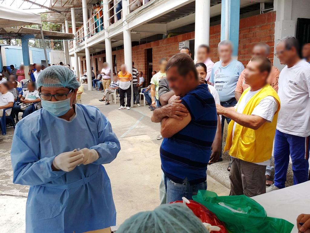 Con jornada de vacunación en cárcel Villahermosa buscan prevenir virus