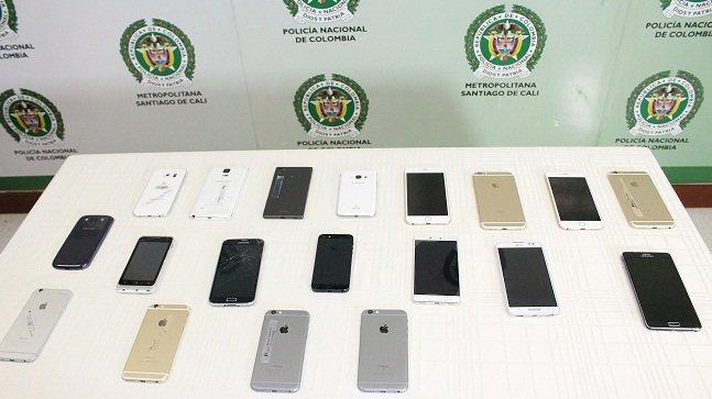 Recuperan 27 celulares robados en concierto del sábado en Cali